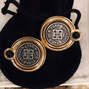 Vintage Givenchy earrings.